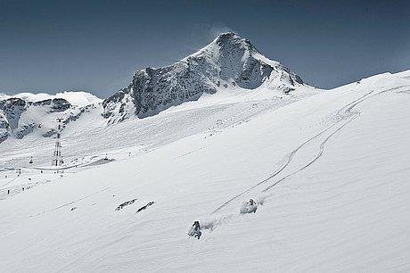 Freerider am Kitzsteinhorn im Winter